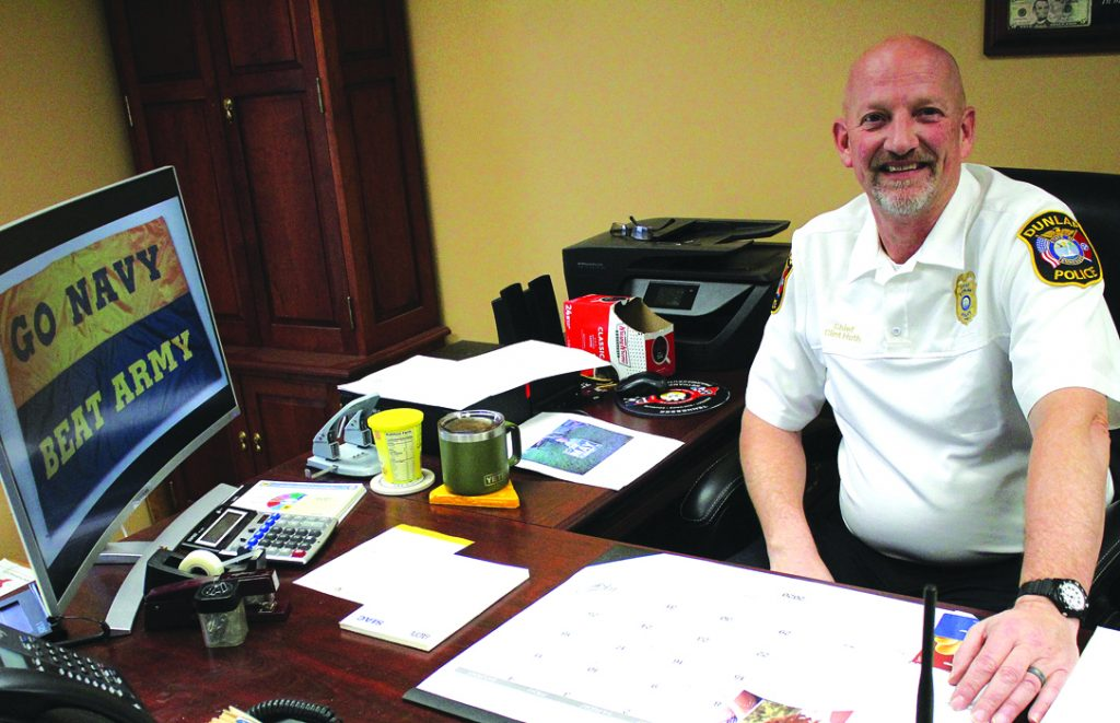 Chief Huth retiring