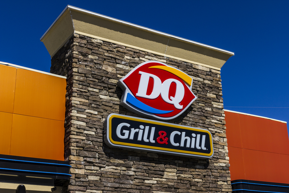 Indianapolis - Circa October 2016: Dairy Queen Retail Fast Food Location. DQ is a Subsidiary of Berkshire Hathaway V